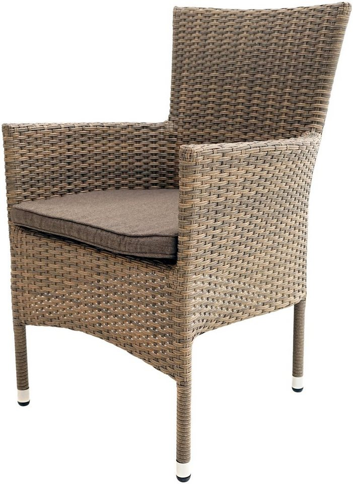 ploss gartenstuhl rabida basic polyrattan stapelbar. Black Bedroom Furniture Sets. Home Design Ideas