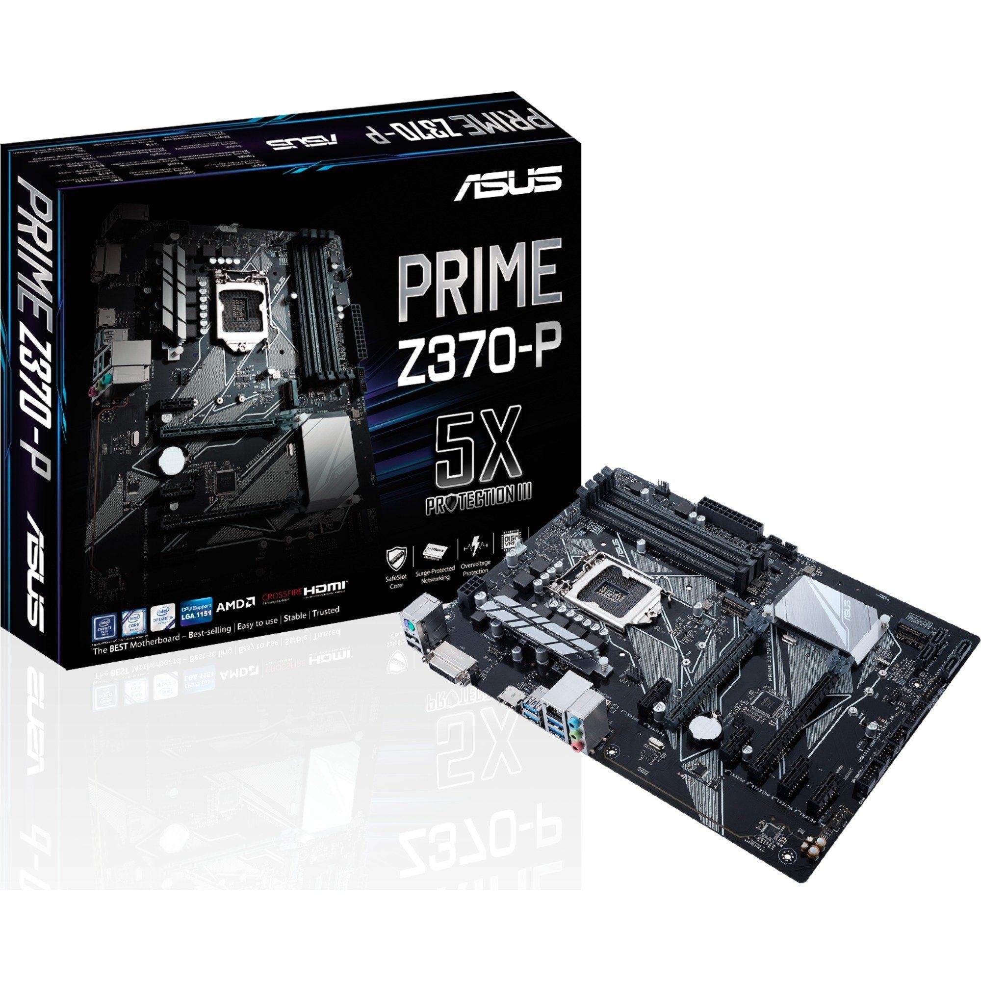 ASUS Mainboard »PRIME Z370-P, G-LAN Sound M.2 SATA3 USB3«