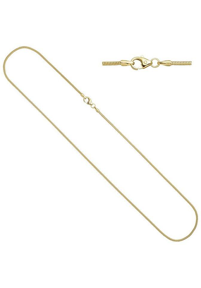 jobo goldkette schlangenkette 585 gold 38 cm 1 4 mm online. Black Bedroom Furniture Sets. Home Design Ideas