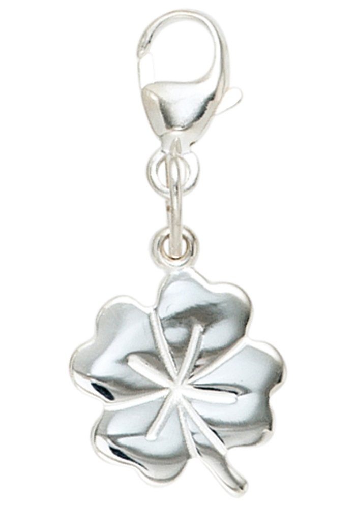JOBO Charm-Einhänger »Kleeblatt« 925 Silber