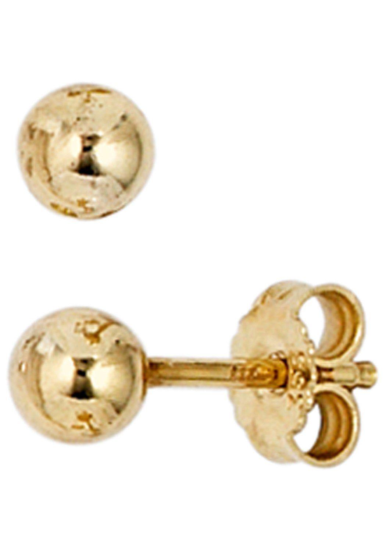 JOBO Paar Ohrstecker 333 Gold