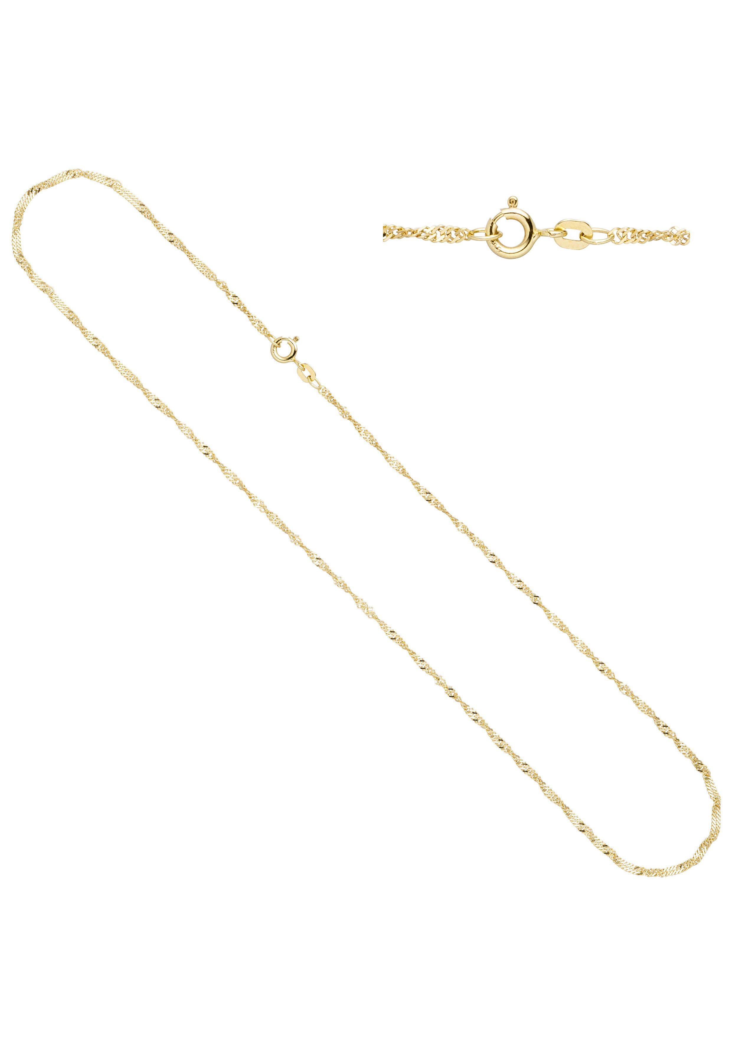 JOBO Goldkette »Singapurkette« Singapurkette 585 Gold 45 cm 1,8 mm