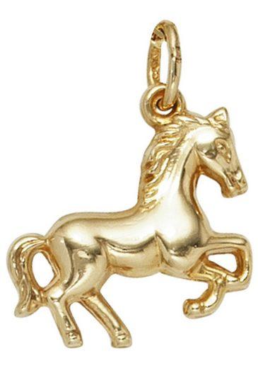 JOBO Kettenanhänger »Pferd« 333 Gold