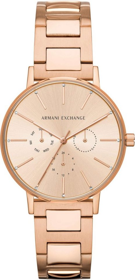 ARMANI EXCHANGE Multifunktionsuhr »AX5552« | Uhren > Multifunktionsuhren | Goldfarben | ARMANI EXCHANGE