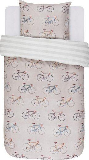 Jugendbettwäsche »Knox«, Covers & Co, mit Fahrrädern