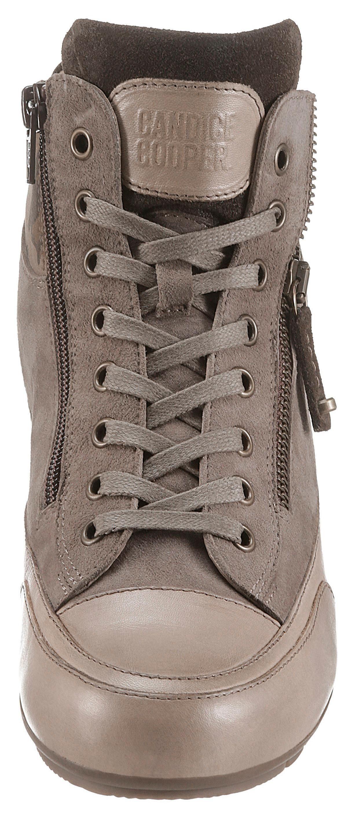 Klassischer »Beverly« Stil >12774 Candice Cooper »Beverly« Klassischer Sneaker im Military-Look 3d4939