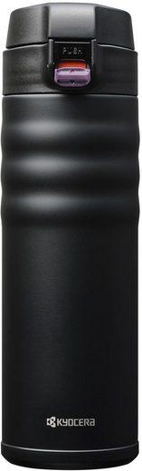 KYOCERA Isolierflasche »Flip Top«, Fassungsvermögen 500 ml, Höhe 21 cm