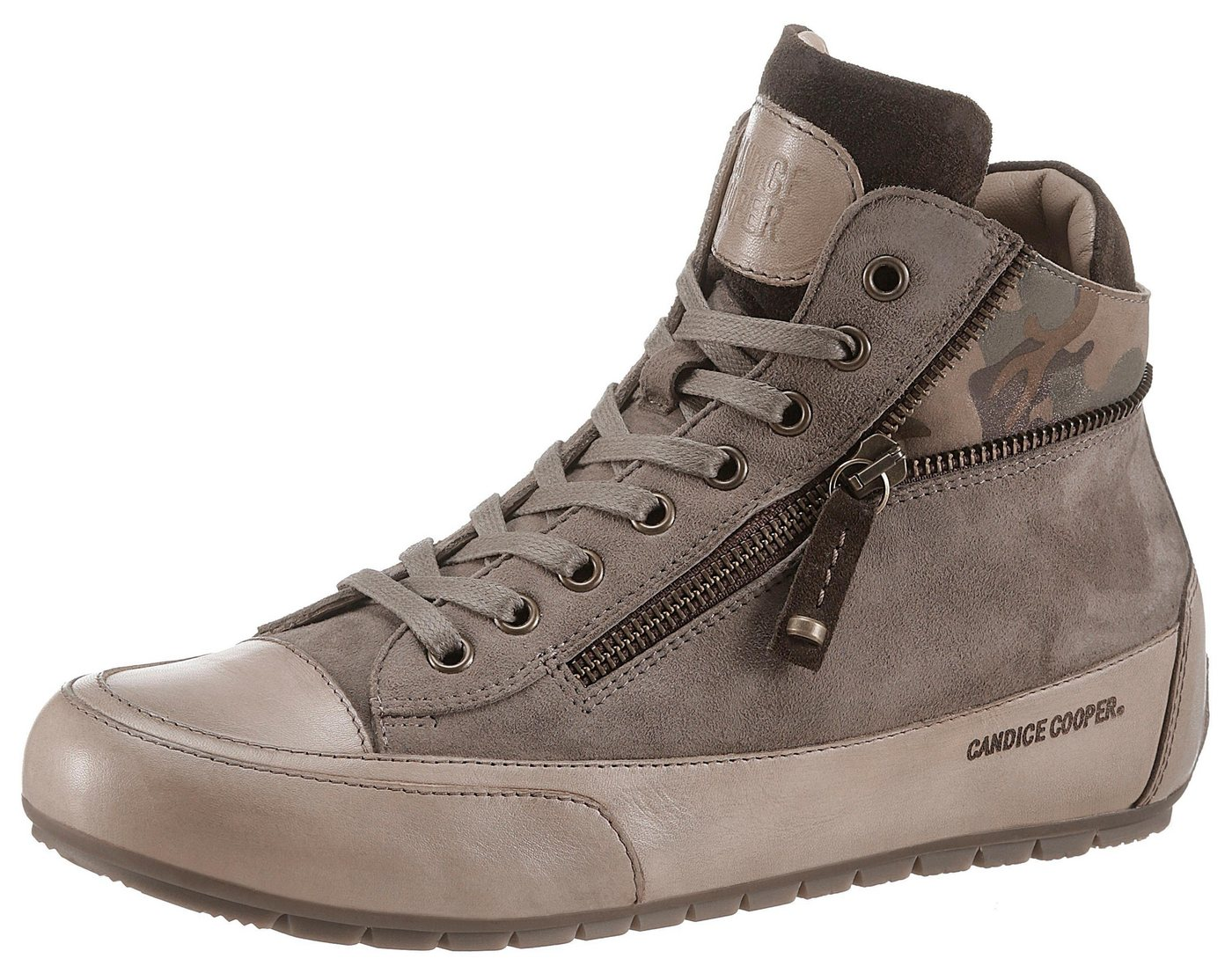 Candice Cooper »Beverly« Sneaker im Military-Look