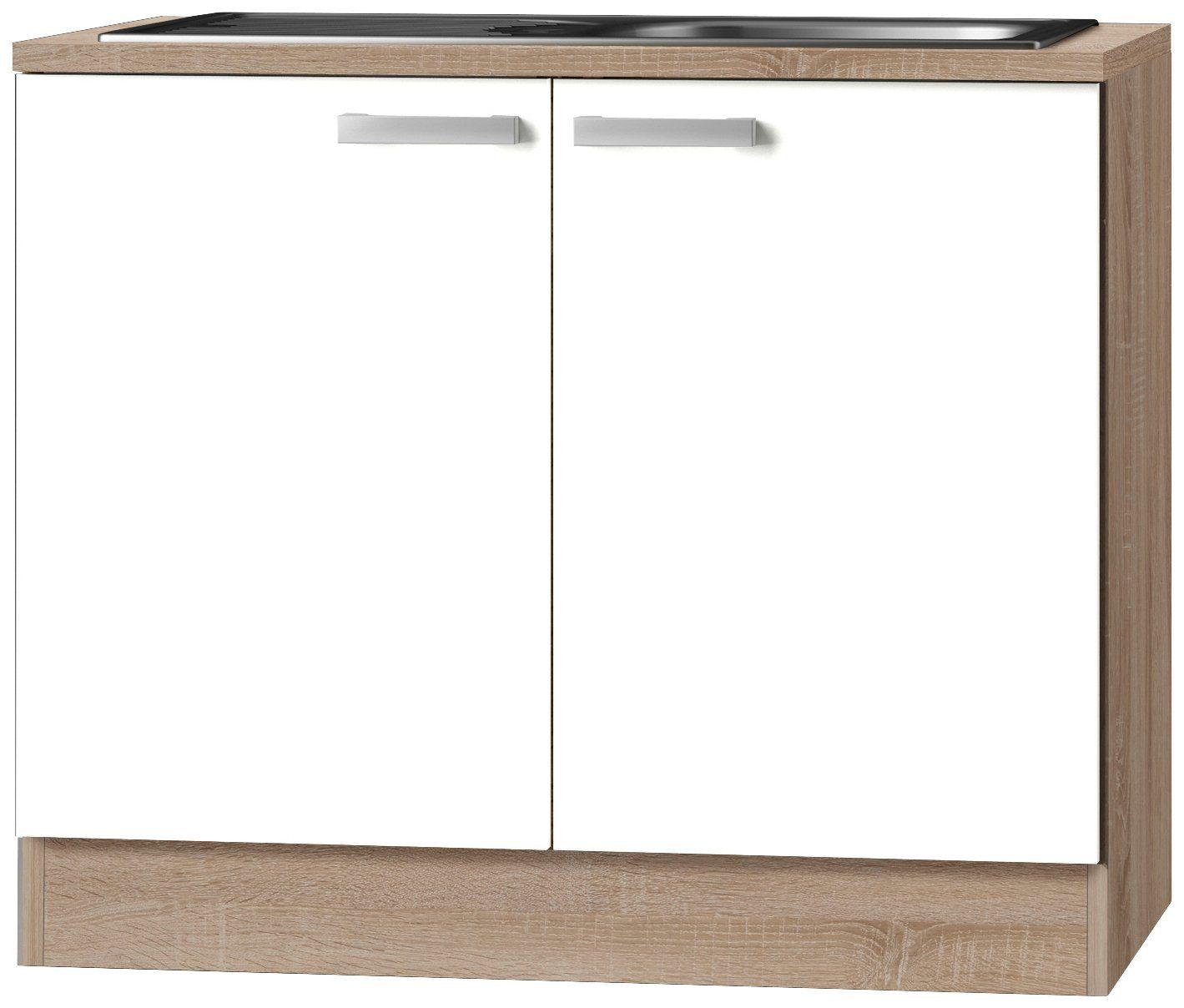 OPTIFIT Spülenschrank »OPTIkult Zamora«, Breite 100 cm