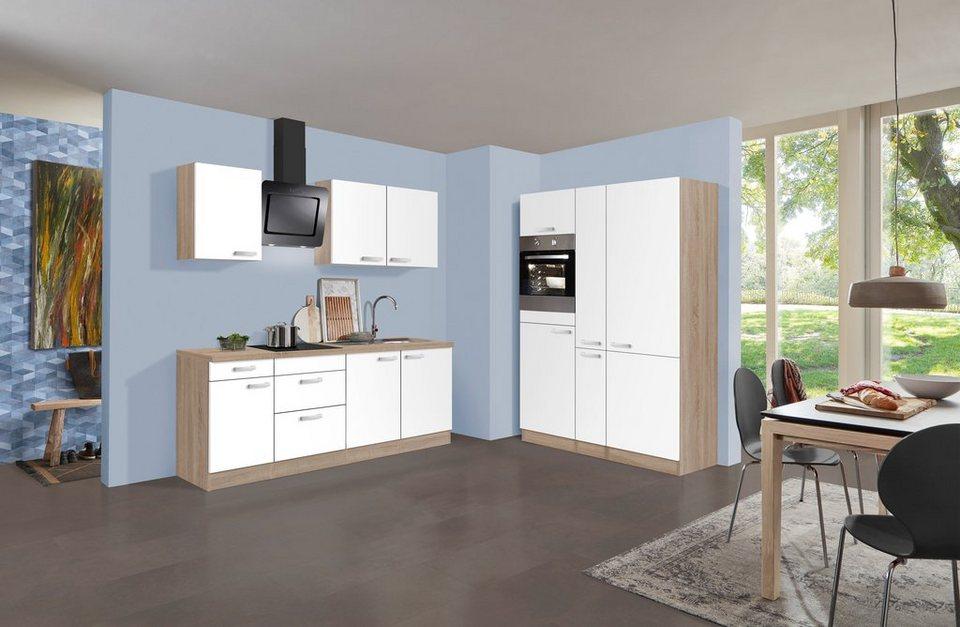 optifit k chenzeile mit e ger ten optikult zamora. Black Bedroom Furniture Sets. Home Design Ideas