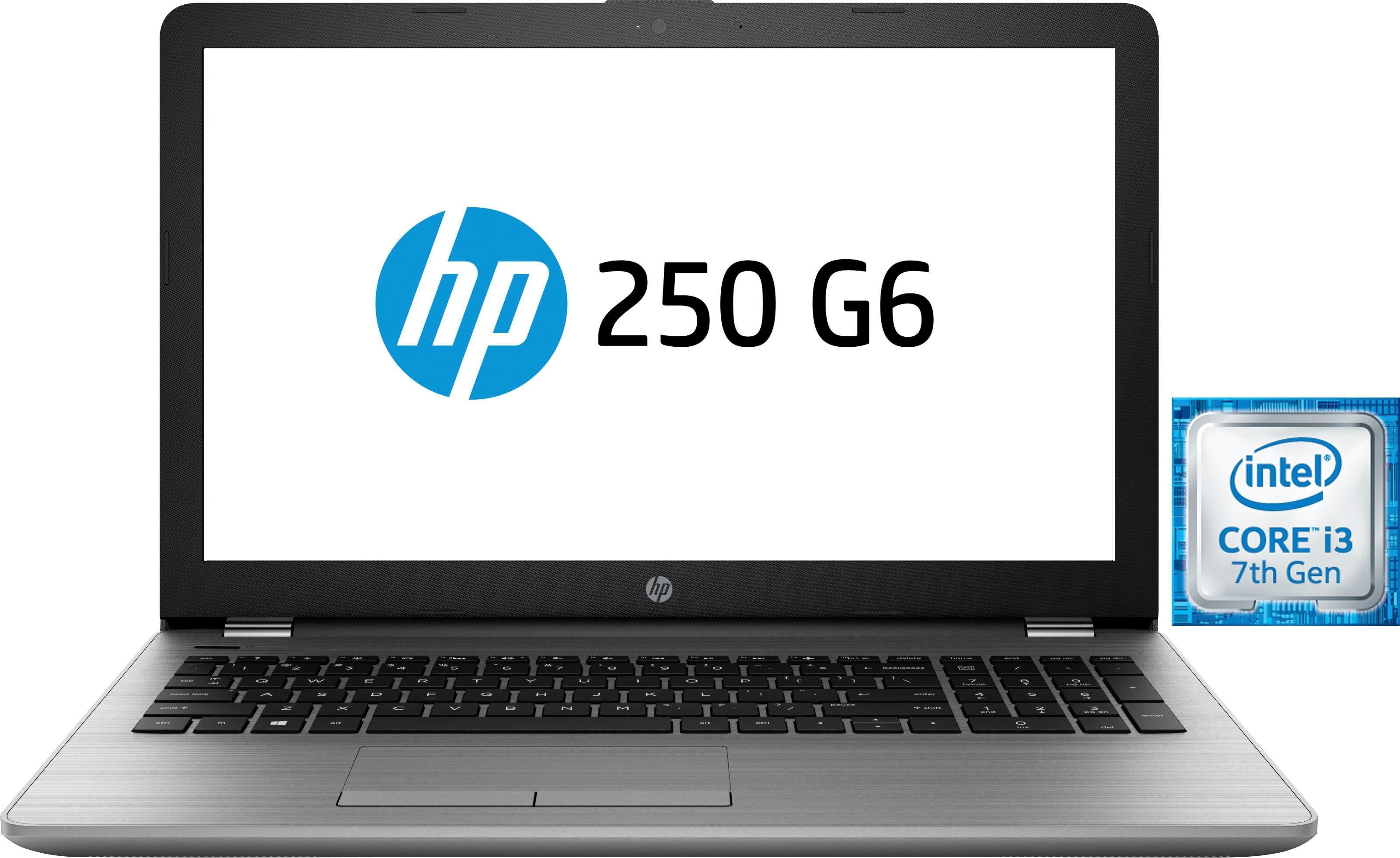 HP 250 G6 Notebook (39,6 cm/15,6 Zoll, Intel Core i3, HD Graphics, 1000 GB HDD, inkl. Office 365 Personal (ESD)