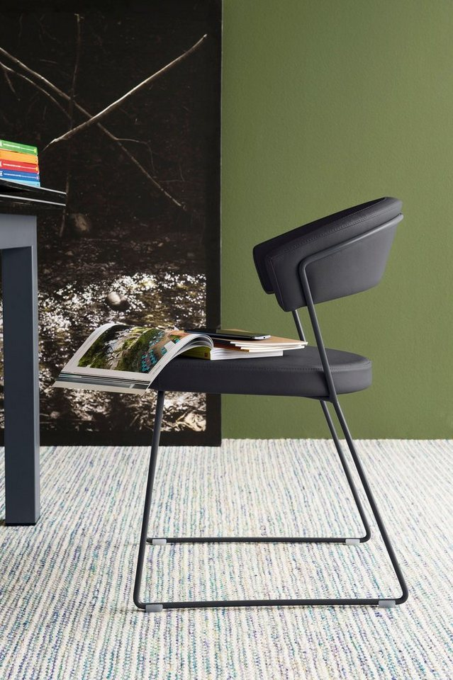 connubia by calligaris Stühle »New York CB1022-LH«, 2 Stck., Gestell ...
