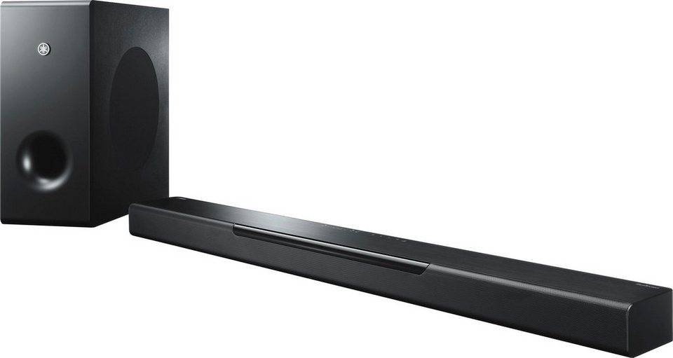 yamaha musiccast bar 400 2 1 soundbar bluetooth wlan. Black Bedroom Furniture Sets. Home Design Ideas
