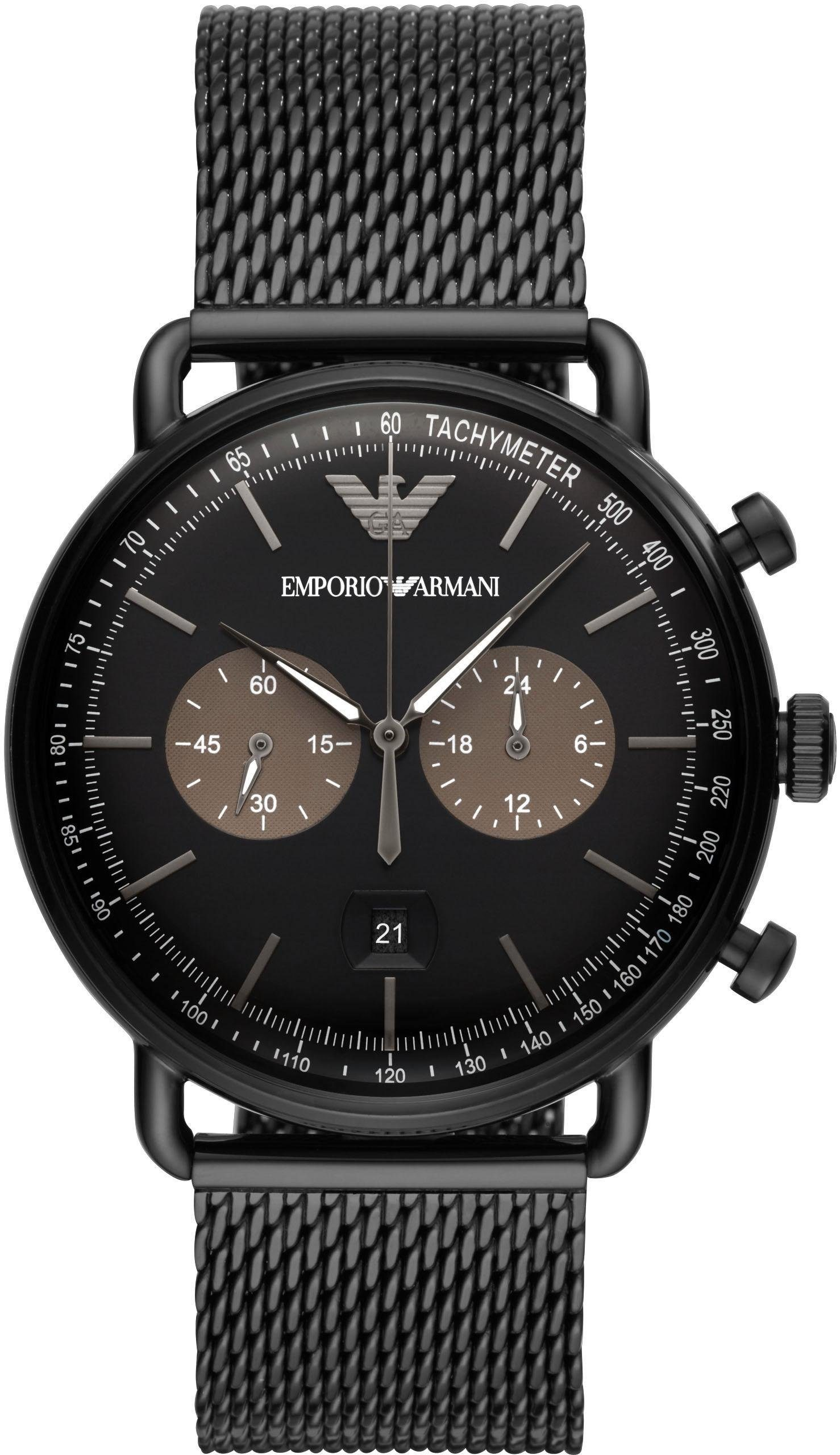 Emporio Armani Chronograph »AVIATOR, AR11142«