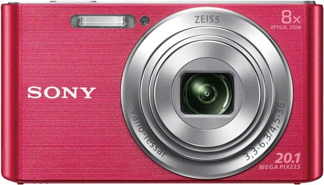 Digitalkameras - Sony »DSC W830« Kompaktkamera (ZEISS Vario Tessar, 20,1 MP, 8x opt. Zoom)  - Onlineshop OTTO