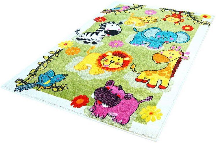 Kinderteppich »Moda Kids 5508«, Carpet City, rechteckig, Höhe 11 mm