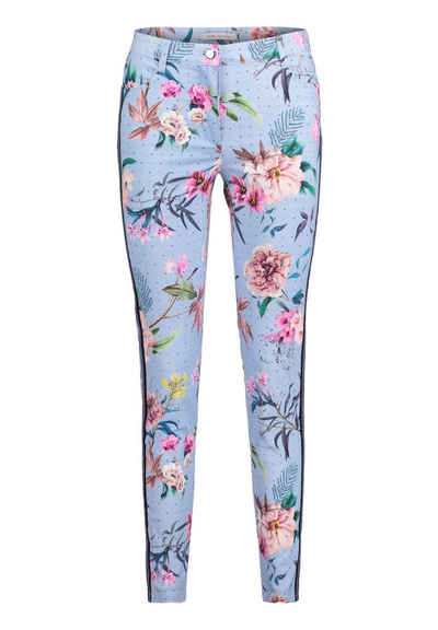 Betty Barclay Stretch-Hose mit Blumenprint f40efbabee