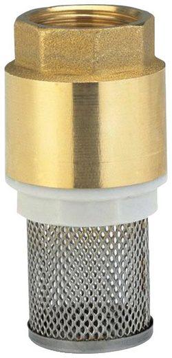 GARDENA Fußventil »07222-20«, Messing, 42 mm (G 1 1/4)-Gewinde
