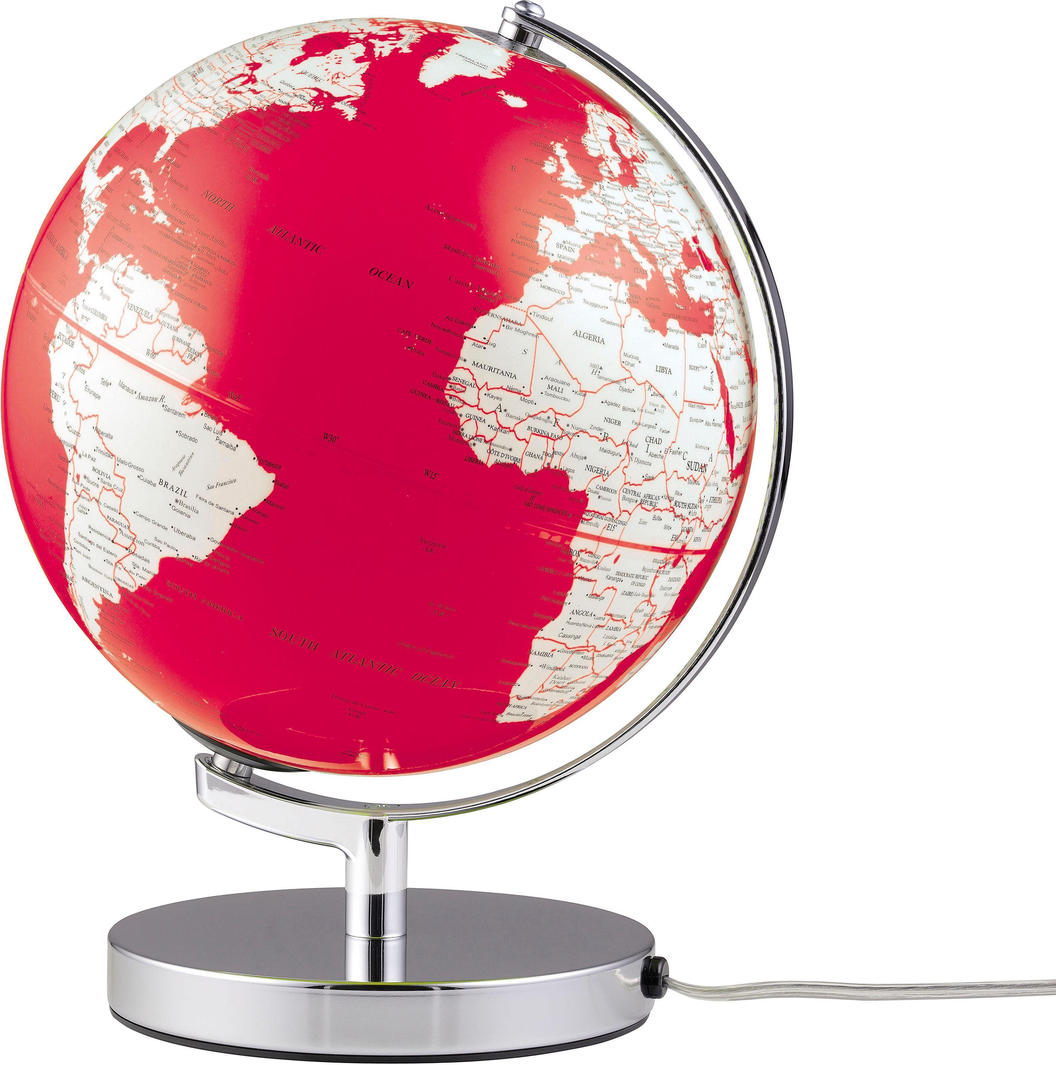 emform® Globus »Terra Red Light«