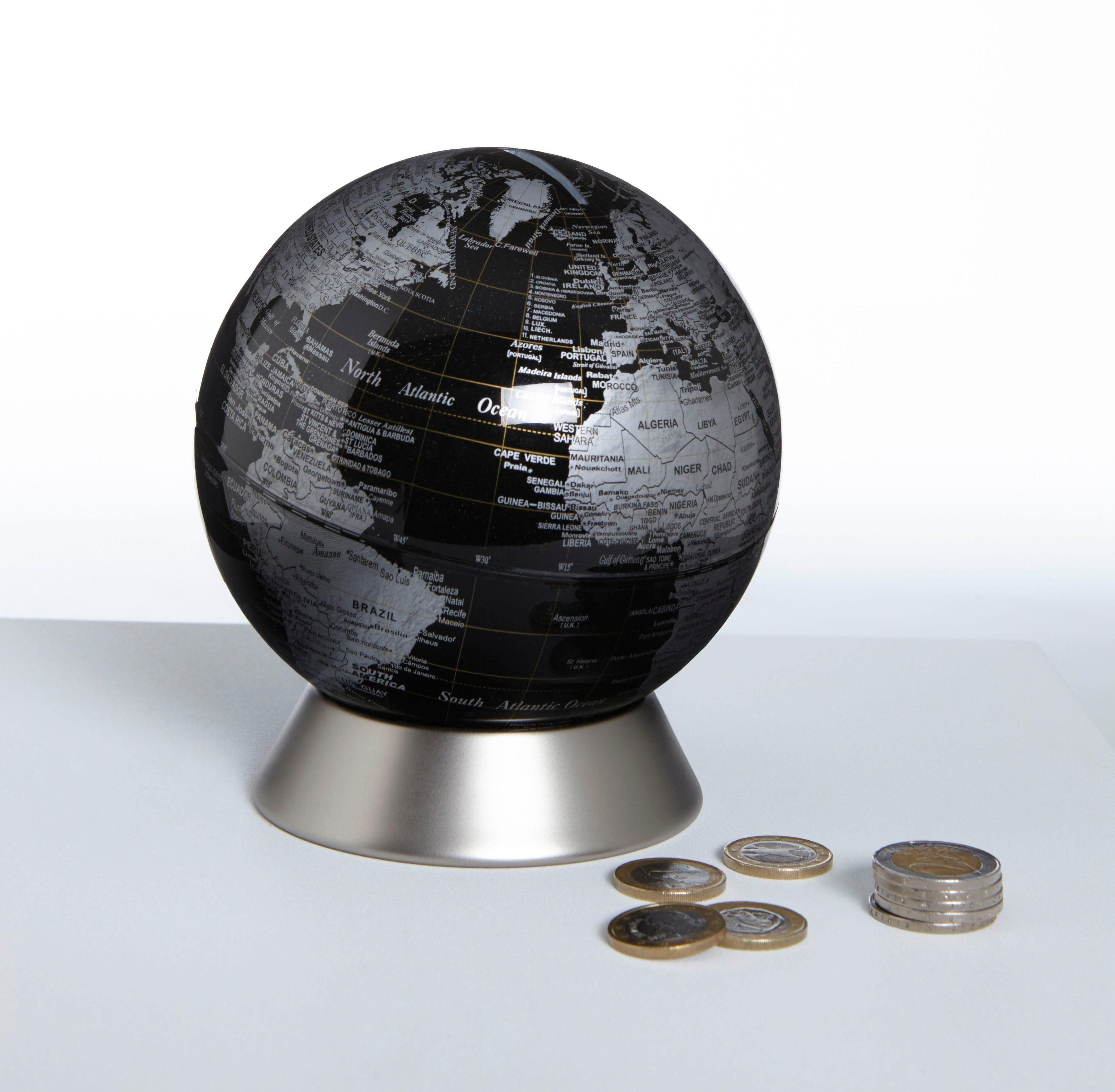 emform® Globus Spardose »ORION BLACK«