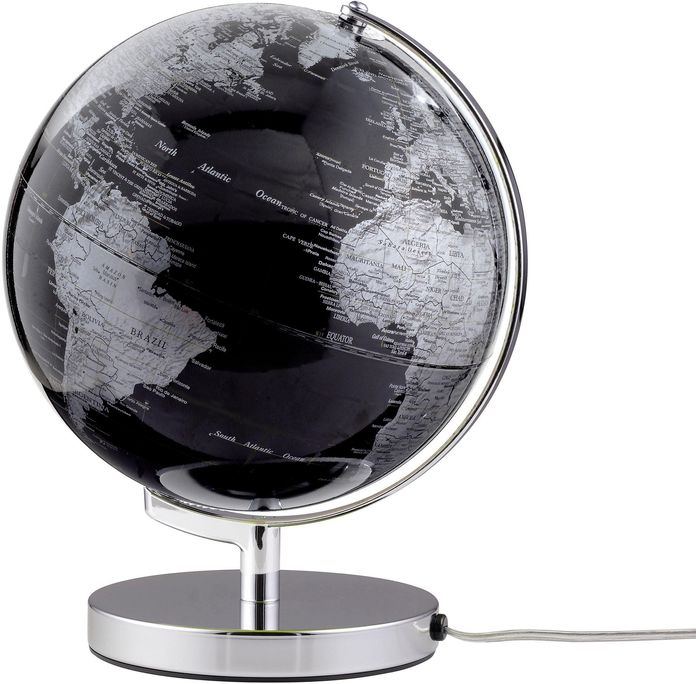 emform® Globus »Terra Black Light«