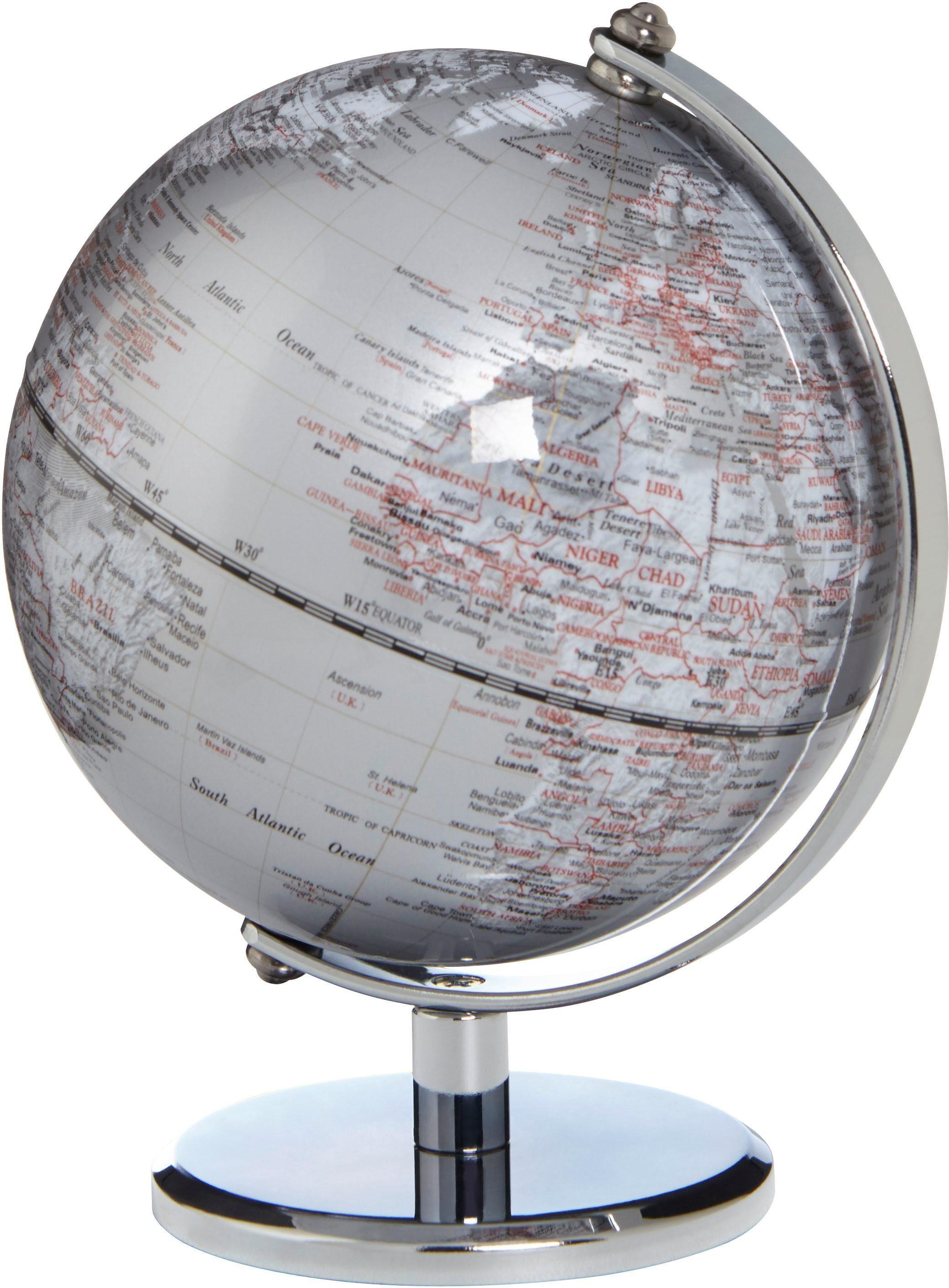 emform® Mini-Globus »GAGARIN SILVER«