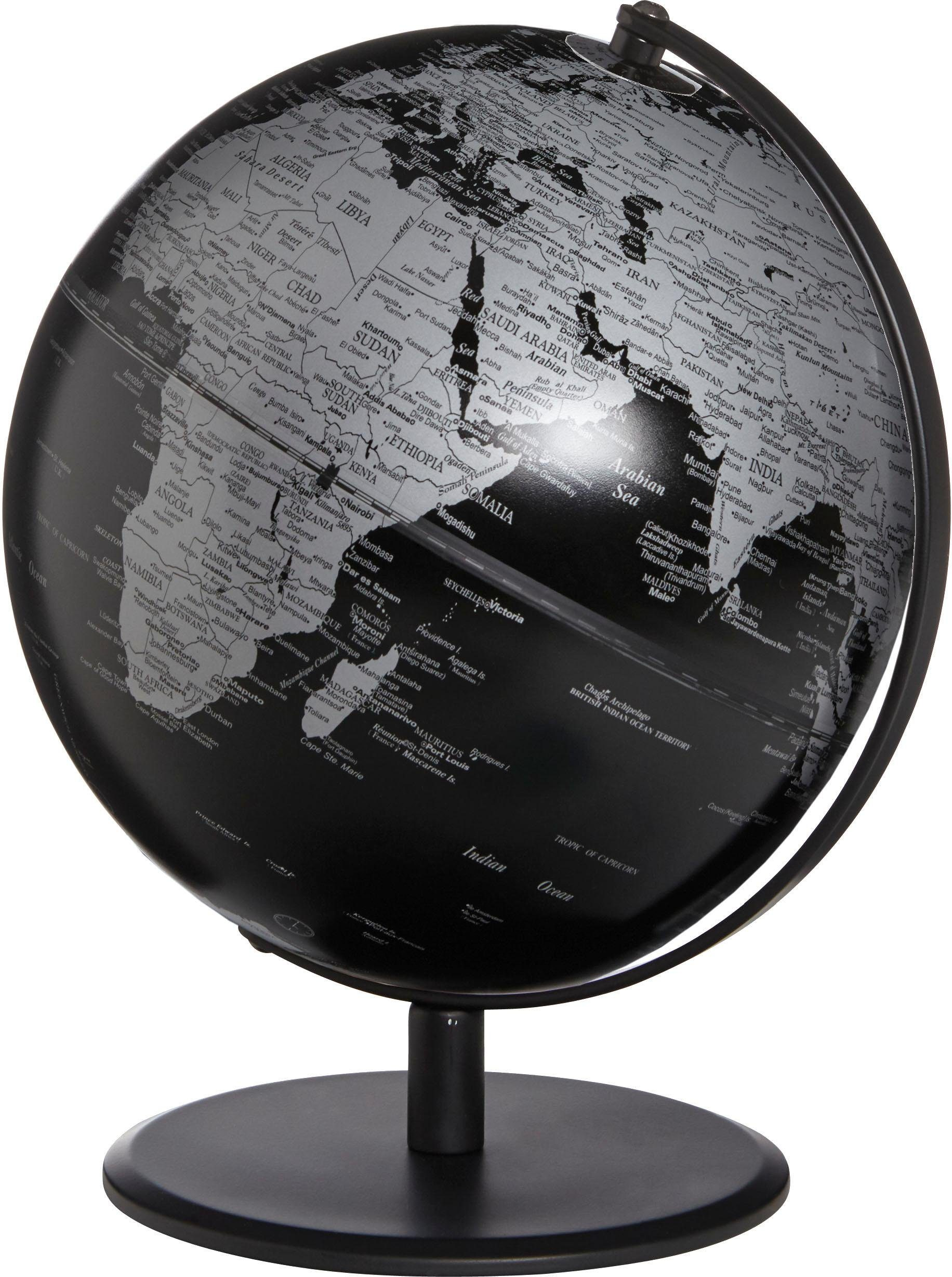emform® Globus »PLANET PLUTO MATT BLACK«