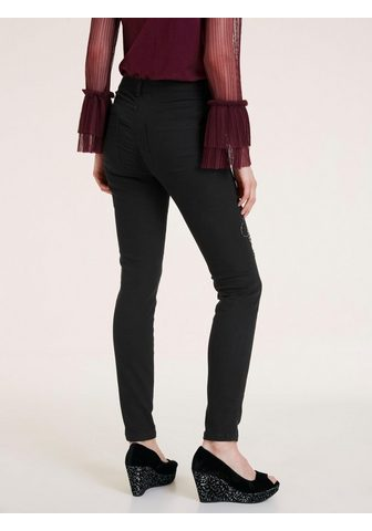 STYLE джинсы аппликация на штанина апп...