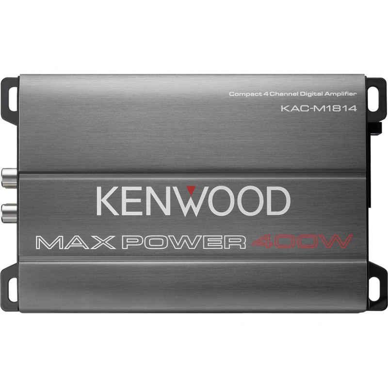 Kenwood »KAC-M1814 Endstufe - Verstärker - grau« Endverstärker