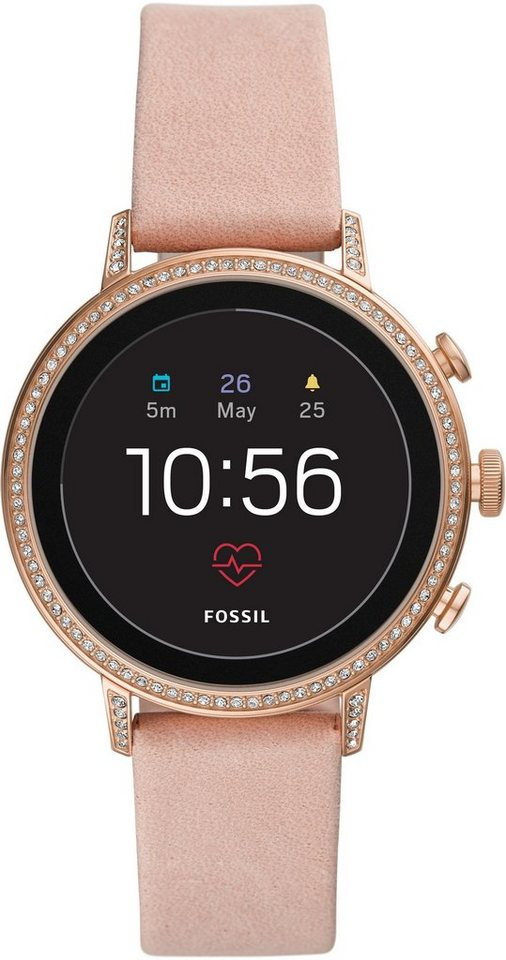 fossil q q venture hr ftw6015 smartwatch mit individuell einstellbarem zifferblatt online. Black Bedroom Furniture Sets. Home Design Ideas
