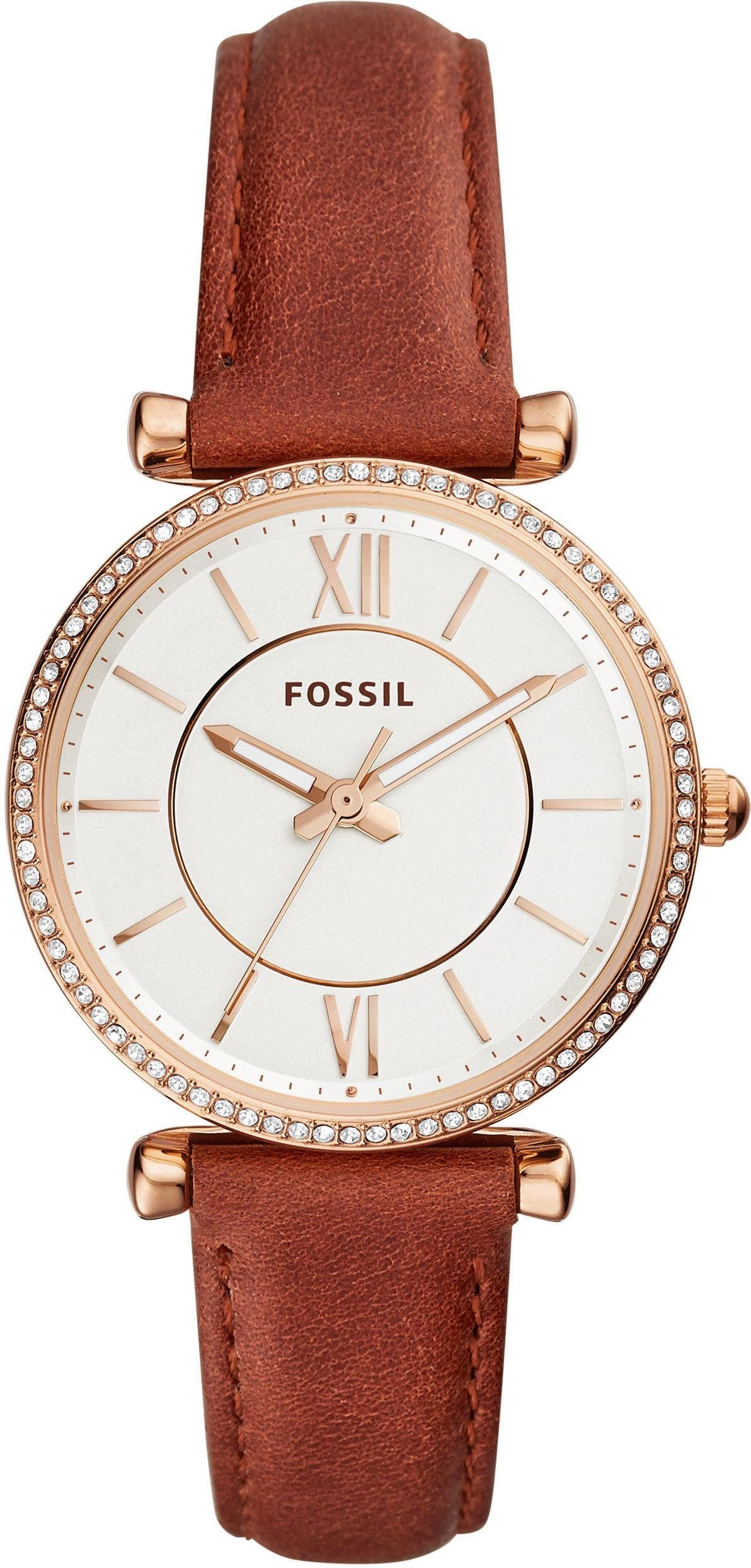 Fossil Quarzuhr »CARLIE, ES4428«