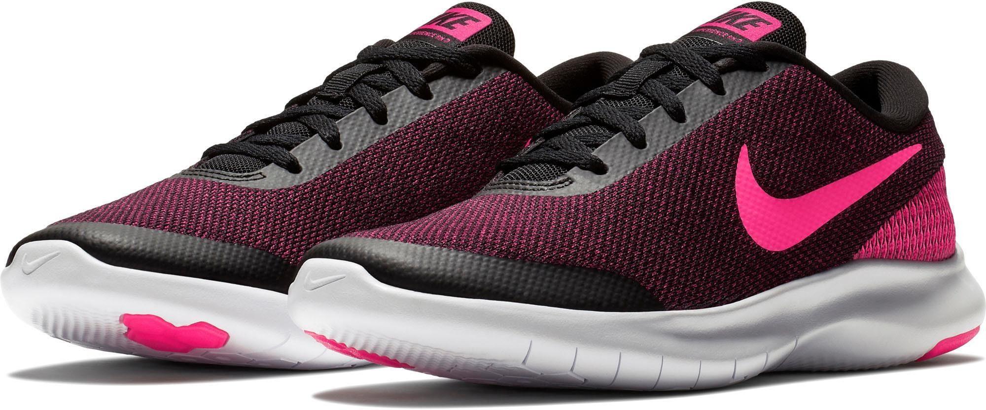 Nike FLEX EXPERIENCE RUN 7 Grün Gelb Schuhe Laufschuhe