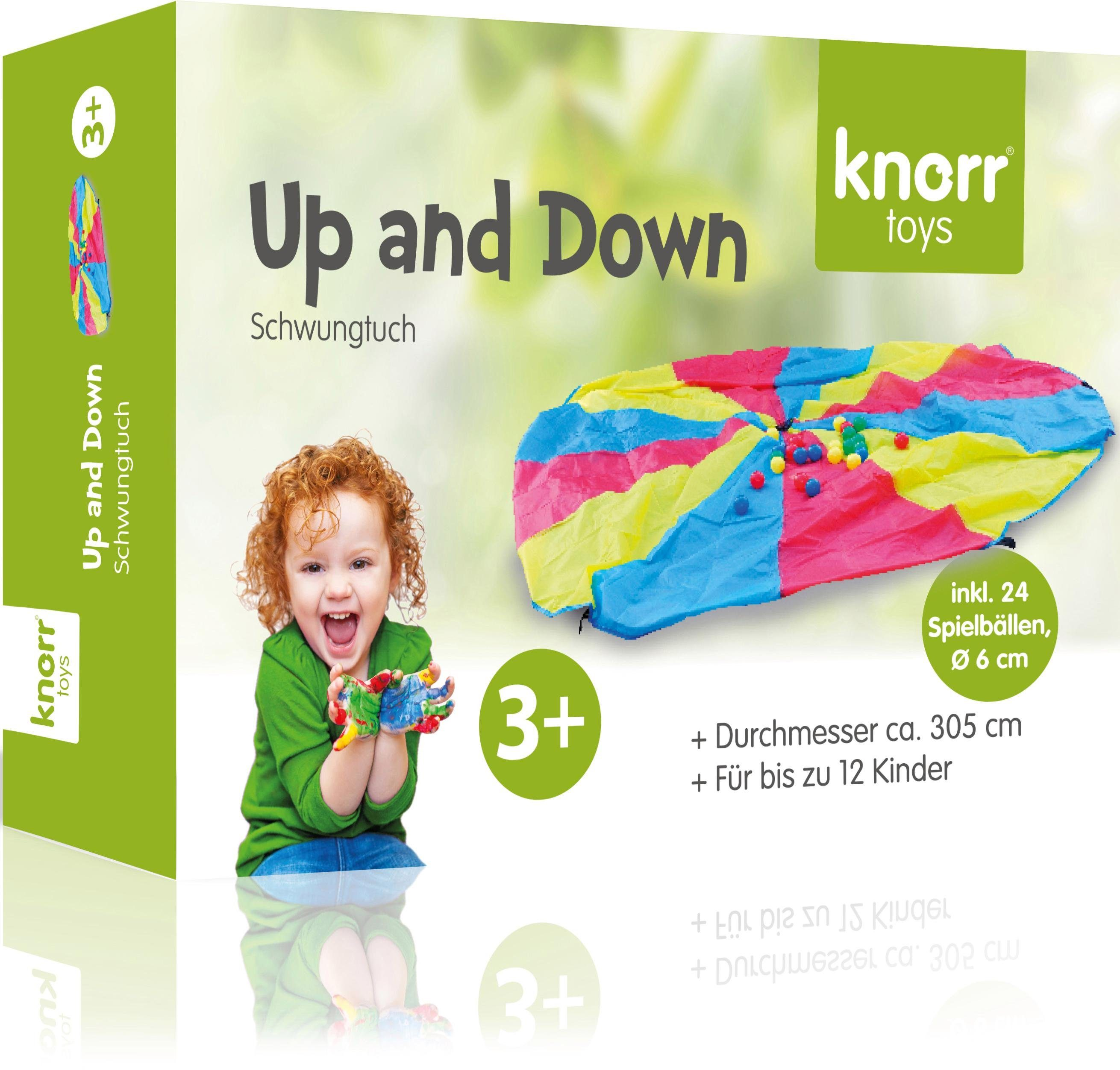 Schwungtuch, »Up and Down«, knorr toys