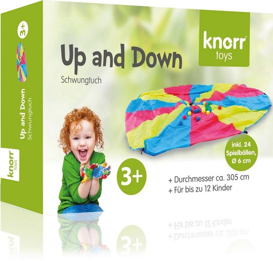 Knorrtoys® Spiel, Schwungtuch »Up and Down«