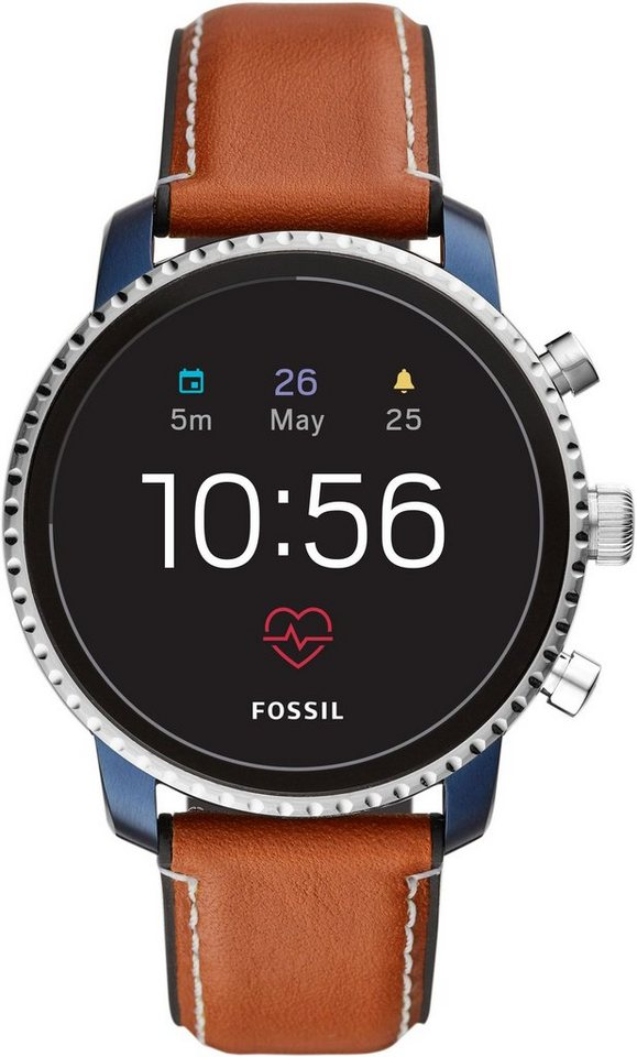 fossil smartwatches q explorist hr ftw4016 smartwatch wear os by google mit individuell. Black Bedroom Furniture Sets. Home Design Ideas