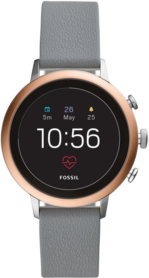 fossil smartwatches q venture hr ftw6016 smartwatch mit individuell einstellbarem zifferblatt. Black Bedroom Furniture Sets. Home Design Ideas