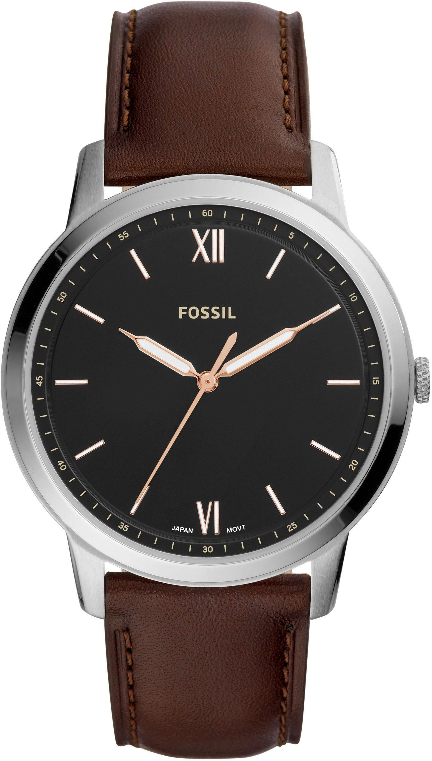 Fossil Quarzuhr »THE MINIMALIST 3H, FS5464«