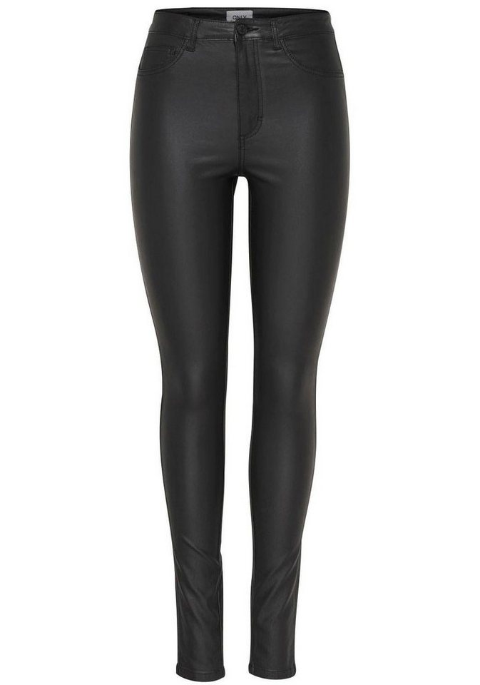 227a69a6727f Only Skinny-fit-Jeans »ROYAL«, Beschichtete Oberfläche online kaufen   OTTO