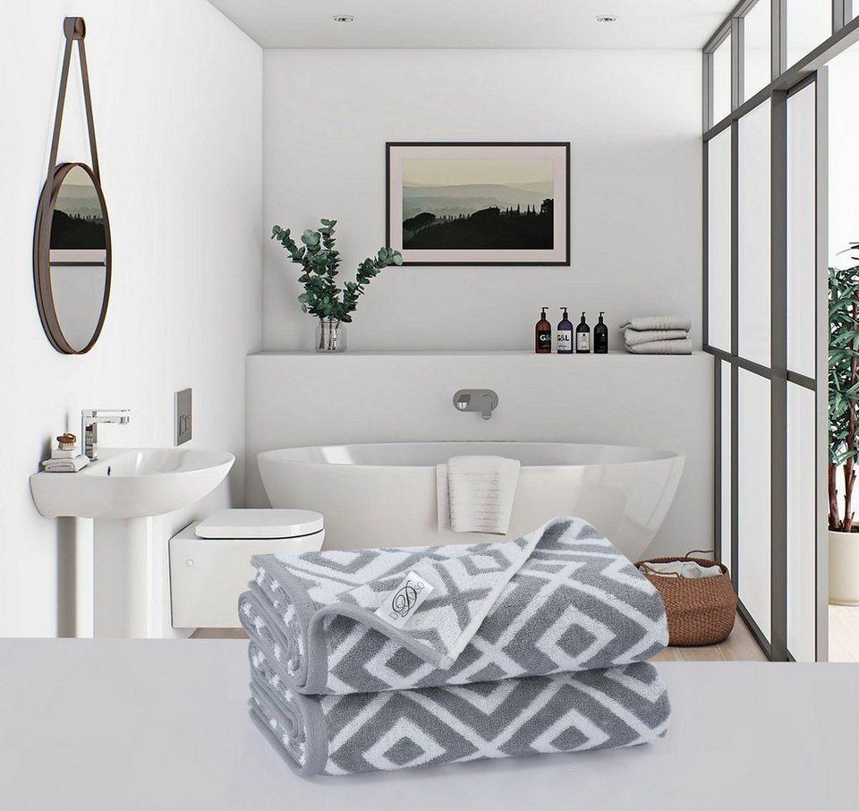badet cher ricii descanso mit rauten muster otto. Black Bedroom Furniture Sets. Home Design Ideas