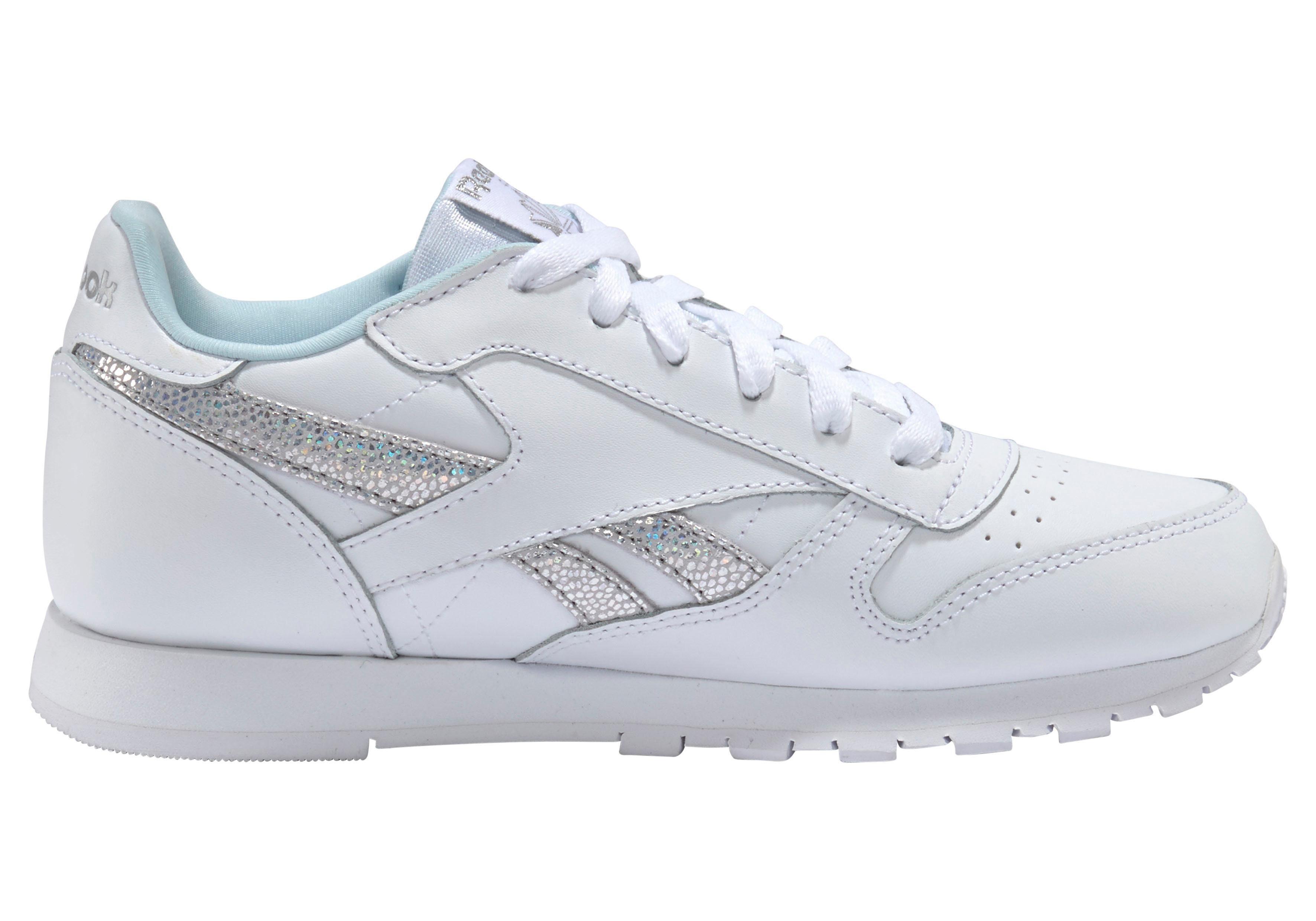 Reebok Classic Sneaker Classic Leather kaufen  weiß-silberfarben