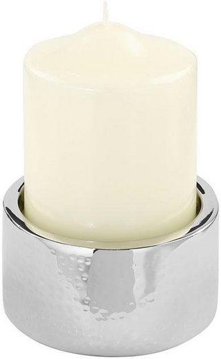 Fink Kerzenständer »SOBRIO«, Hammerschlagoptik