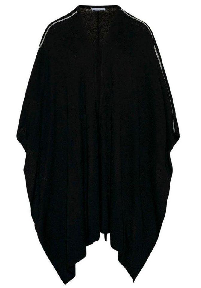 42ca8ef1f7b618 CLAIRE WOMAN Strickponcho Mit effektvoller Verzierung online kaufen ...