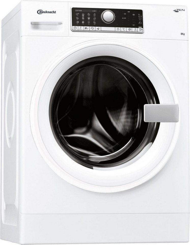 BAUKNECHT Waschmaschine BK 3000, 8 kg, 1400 U/Min