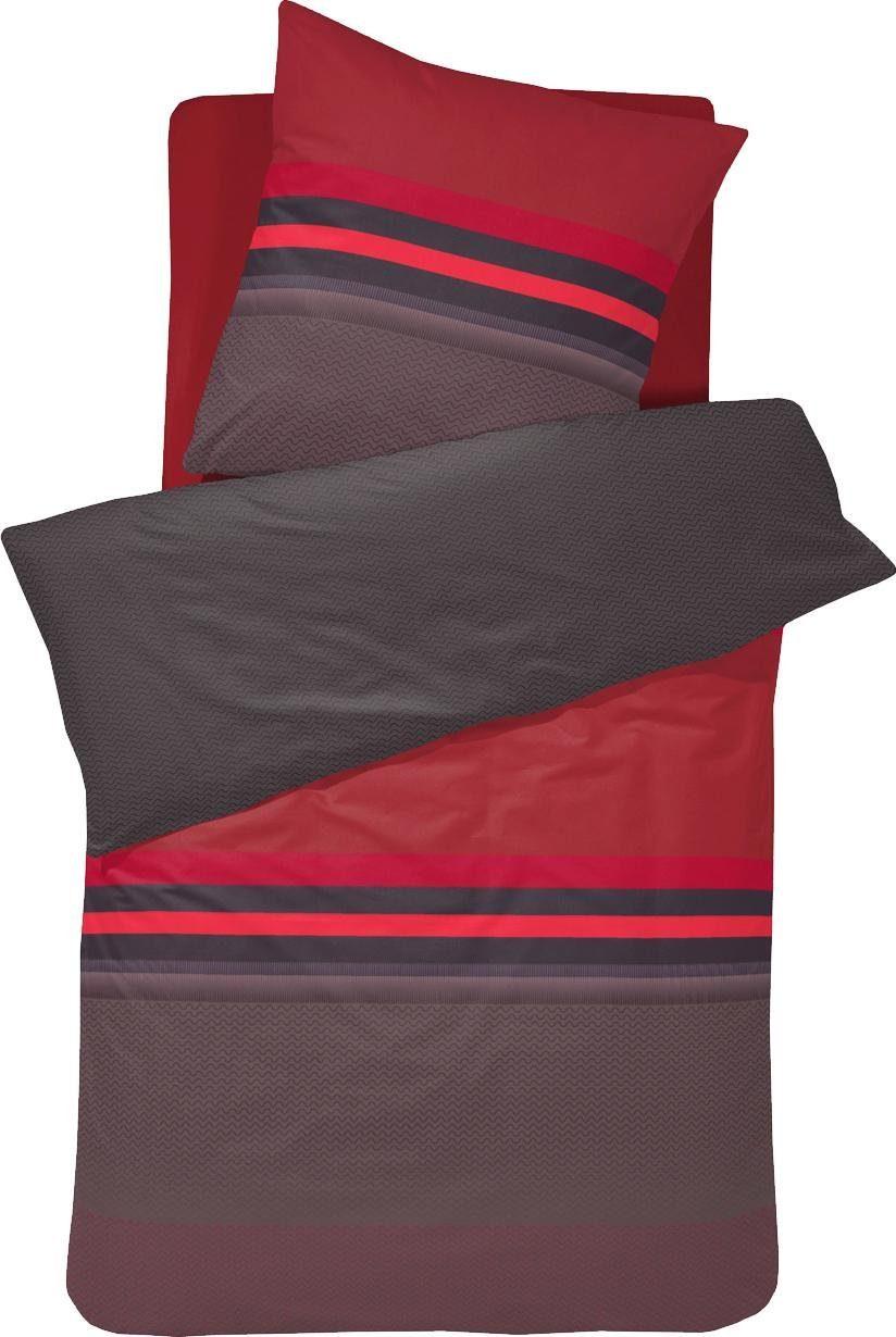 Bettwäsche »Carmen«, damai, mit Streifen und Muster