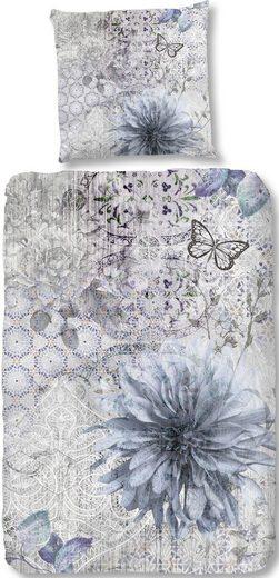 Bettwäsche »Melia«, good morning, mit Blumen