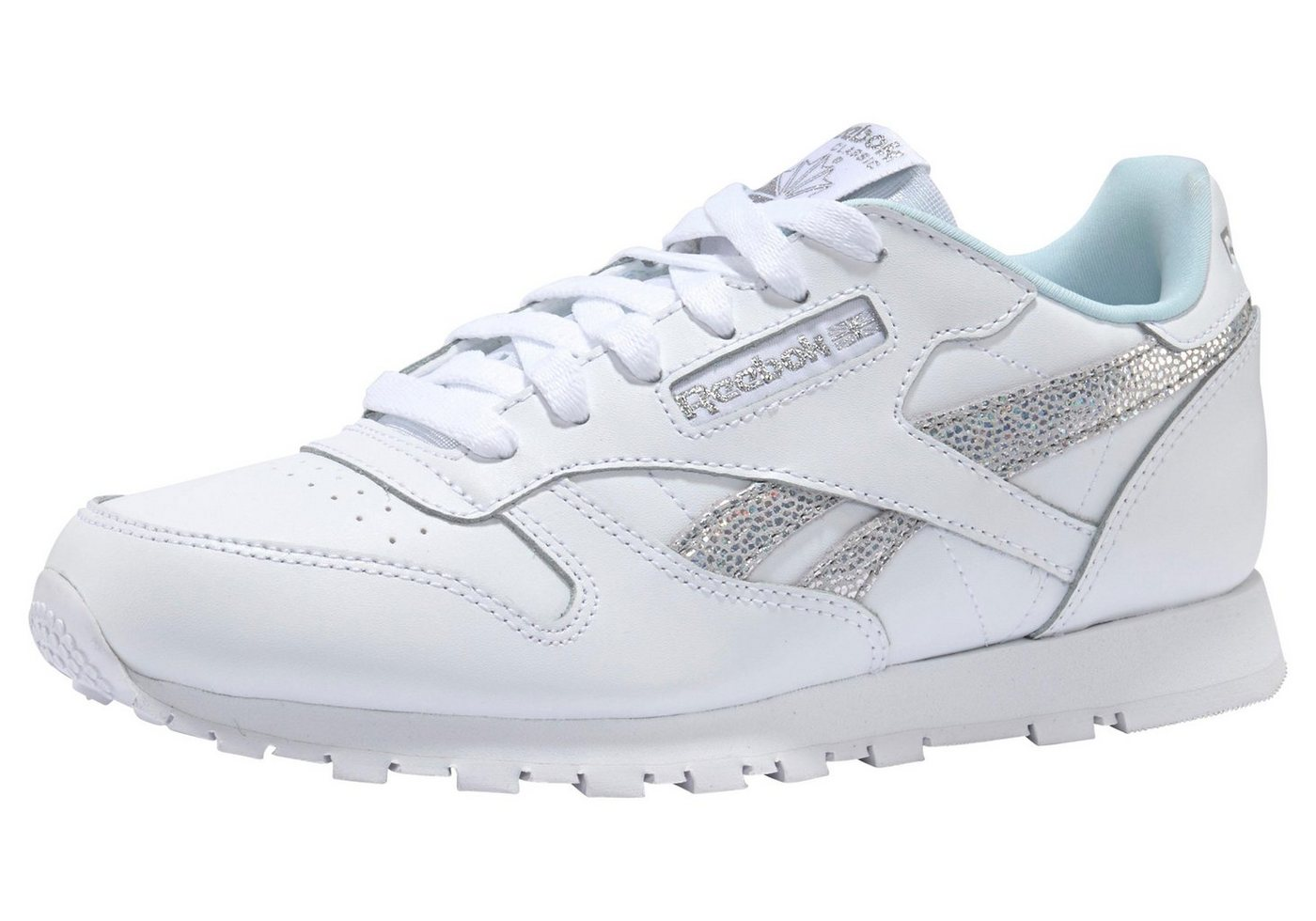 Damen Reebok Classic Classic Leather Sneaker weiß   04059808616667