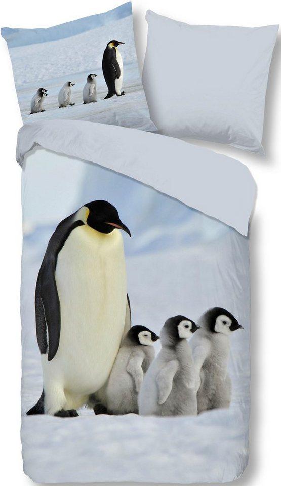 Wendebettwasche Pinguins Good Morning Mit Pinguin Motiv Online Kaufen Otto