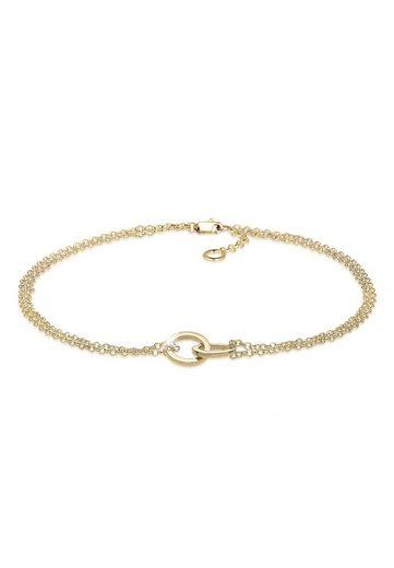 Elli Armband »Kreis 375 Gelbgold«