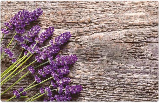 Platzset, »Platzset Lavendel Blüten Vintage 1 Stk. 43,5 cm«, matches21 HOME & HOBBY