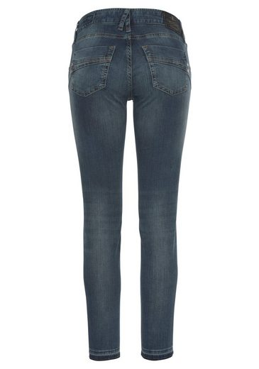 Herrlicher 7/8-Jeans  TOUCH CROPPED  aus innovativen Jogg-Denim